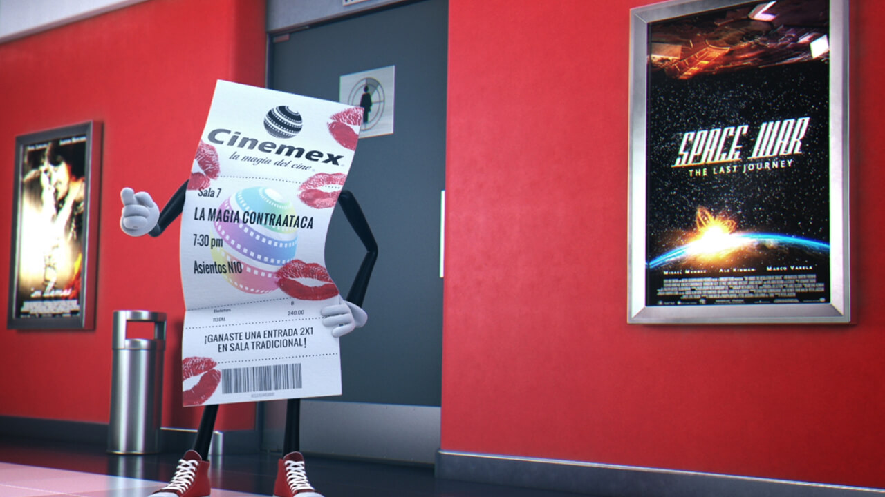 TICKETÍZATE CINEMEX 2017