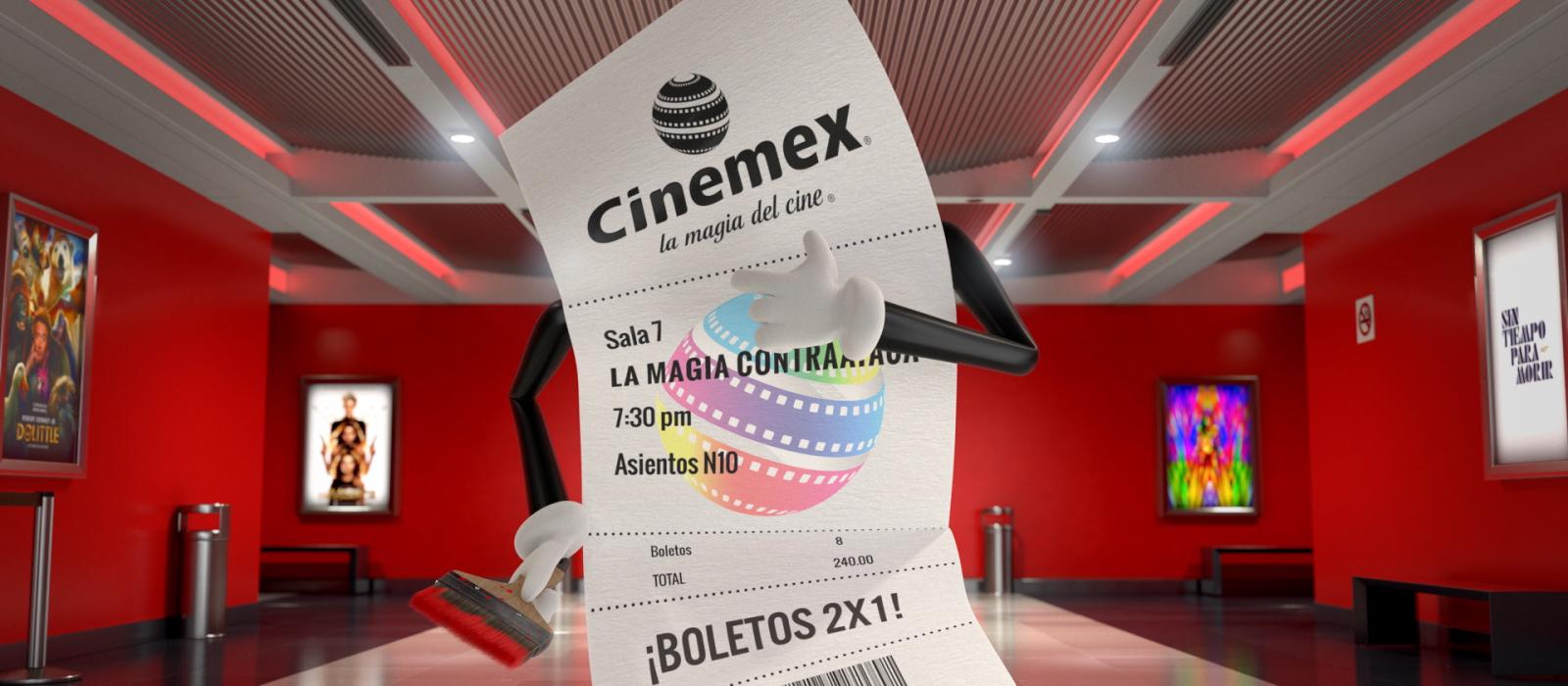 CINEMEX TICKETÍZATE 2020