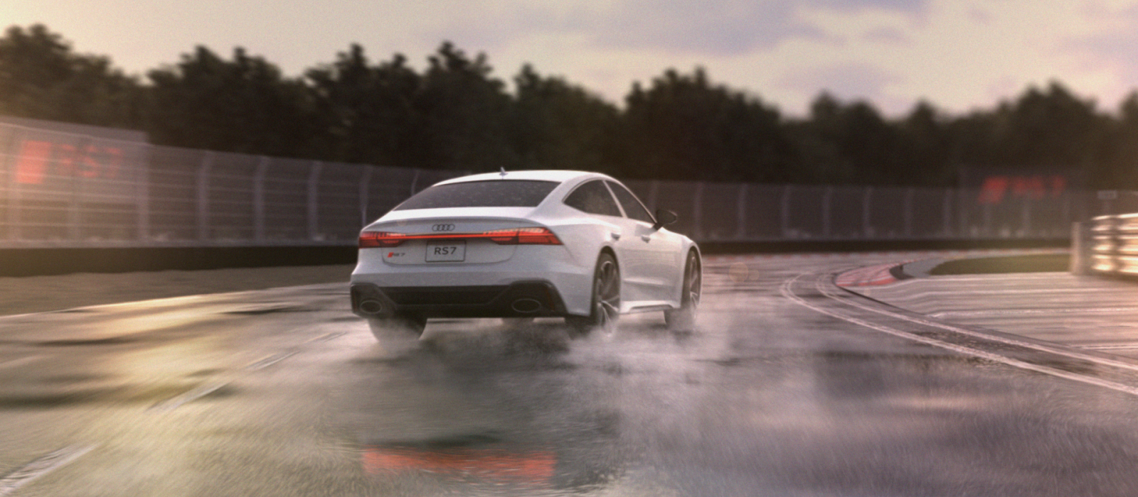 THE ART OF SPEED – AUDI RS 7