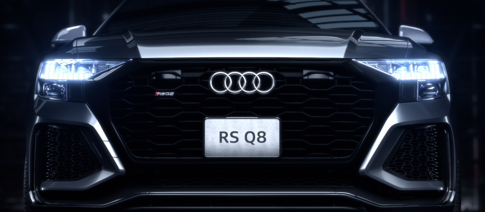THE ART OF SPEED – AUDI RS Q8